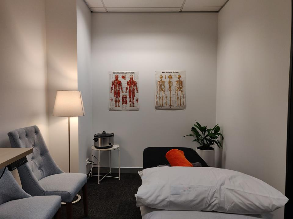 Massage Newstead - Anytime Physio Gasworks Room Interior