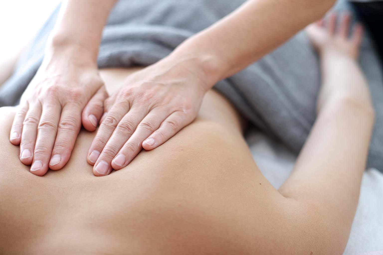 Back massage Brisbane Anytime Physio