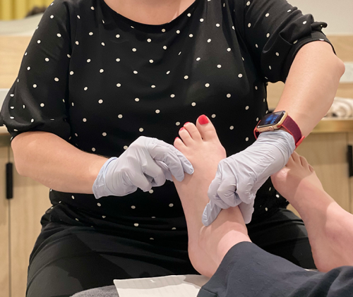 Podiatry Foot Assessment