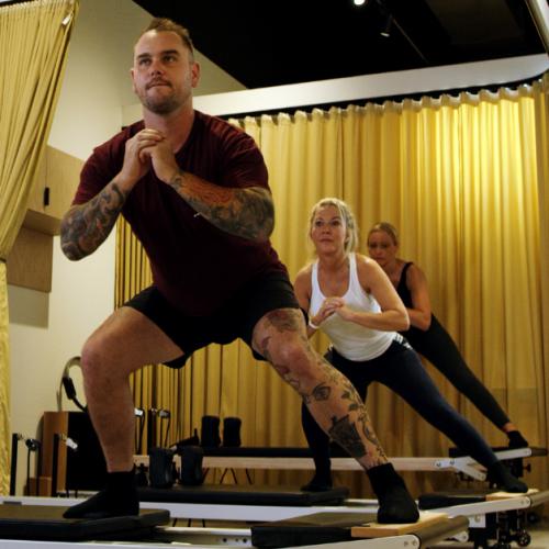 Newstead Reformer Pilates Class